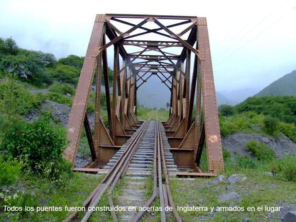 El Tren y la Ruta Nac.N°51, camino a Chile