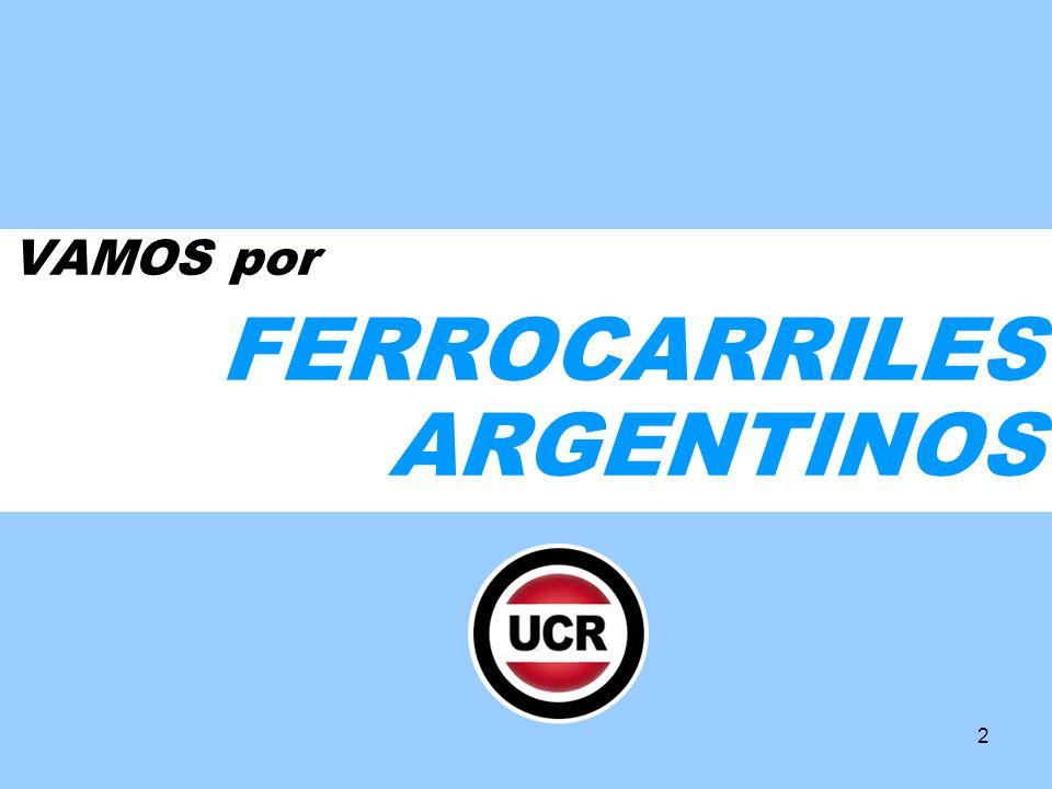2 VAMOS por FERROCARRILES ARGENTINOS