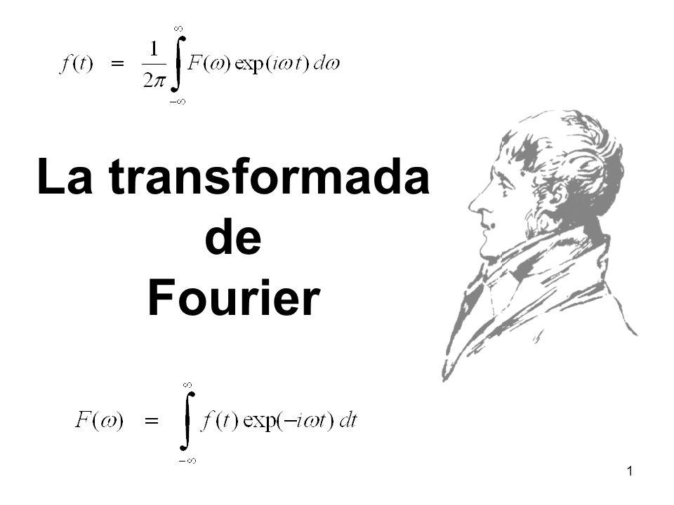 La transformada de Fourier 1
