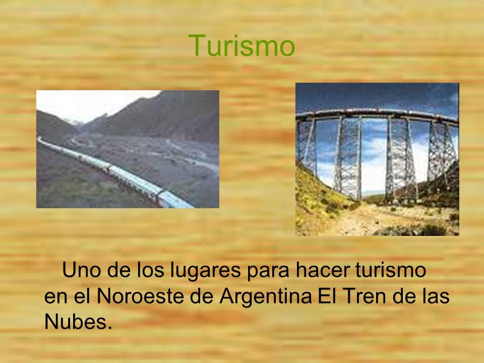 Turismo Uno de los lugares para hacer turismo en el Noroeste de Argentina El Tren de las Nubes.