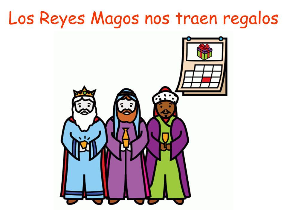 Los Reyes Magos nos traen regalos
