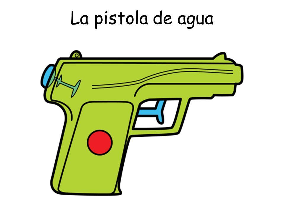 La pistola de agua