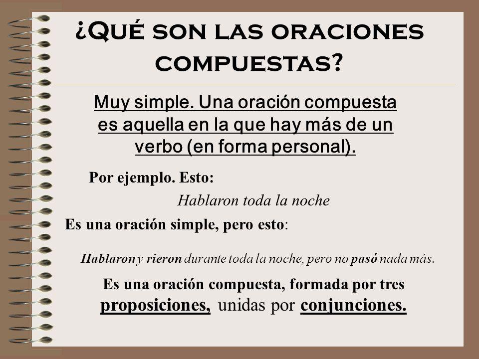 LAS ORACIONES COMPUESTAS I Carlos Rull García Dpto. Lengua Castellana y Literatura I.E.S. LAlcalatén, Alcora. Castelló