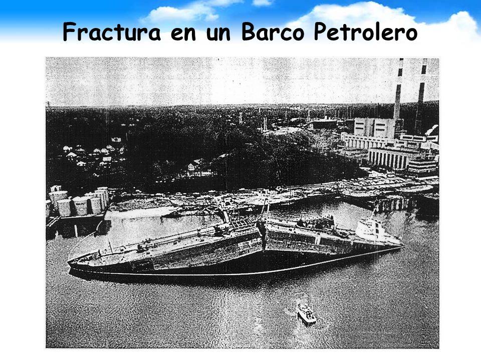 Fractura en un Barco Petrolero
