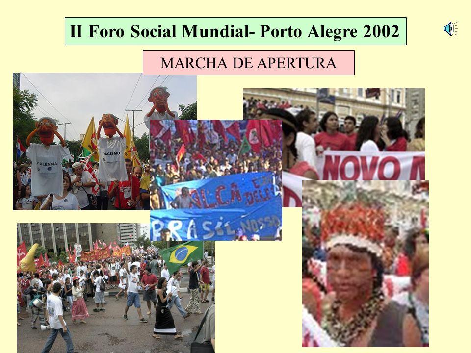 II Foro Social Mundial- Porto Alegre 2002 CONSTRUCCIÓN DEL CAMPAMENTO DE JUVENTUD