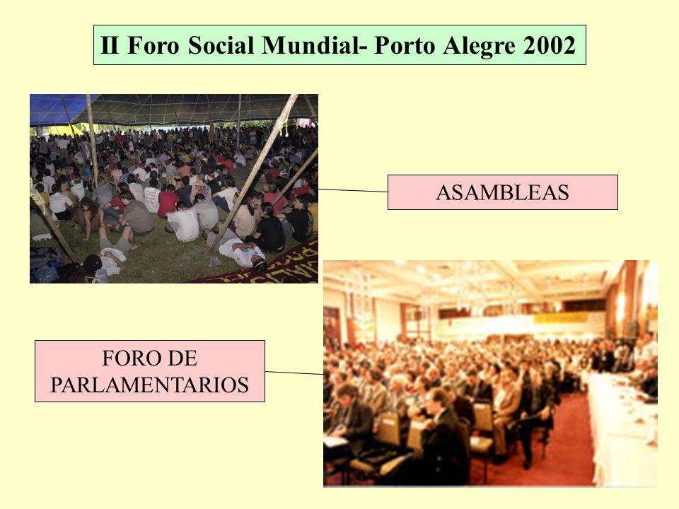 II Foro Social Mundial- Porto Alegre 2002 MARCHA DE APERTURA