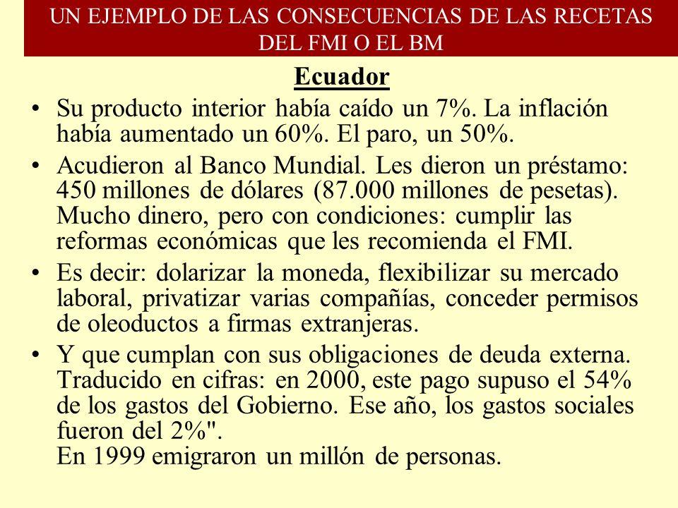 OTROS DATOS La Ayuda Oficial al Desarrollo española alcanza su punto más bajo (0,23%), pese al aumento del PIB. La Comisión Europea anuncia que en 201