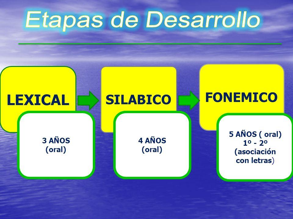 De acuerdo a la toma de conciencia de las diferentes unidades lingüísticas: De acuerdo a la toma de conciencia de las diferentes unidades lingüísticas