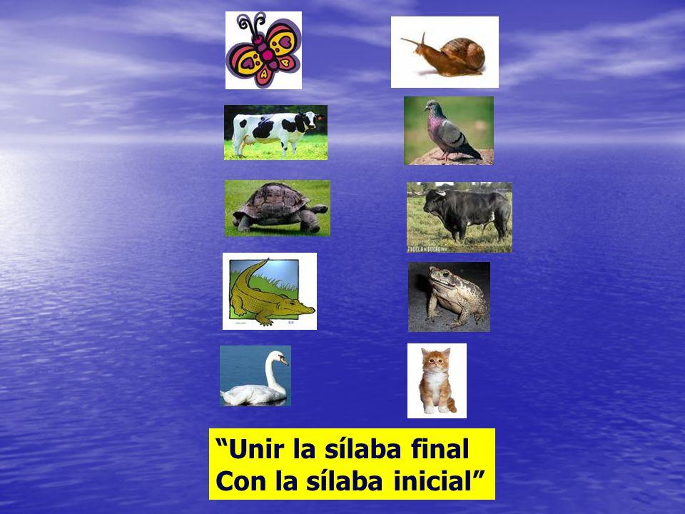 Unir sílabas y fonemas para formar palabras: En forma directa En forma directa En forma inversa En forma inversa