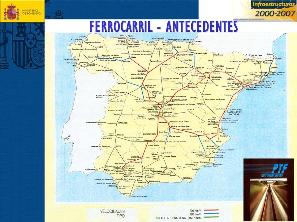 PLAN DIRECTOR DE INFRAESTRUCTURAS (PDI) 1993-2007 ARAGÓN: L.A.V.