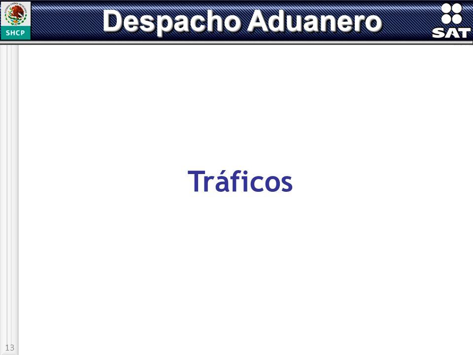 13 Despacho Aduanero Tráficos