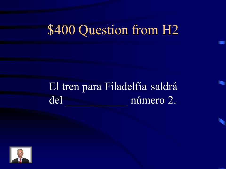 $300 Answer from H2 De/con retraso