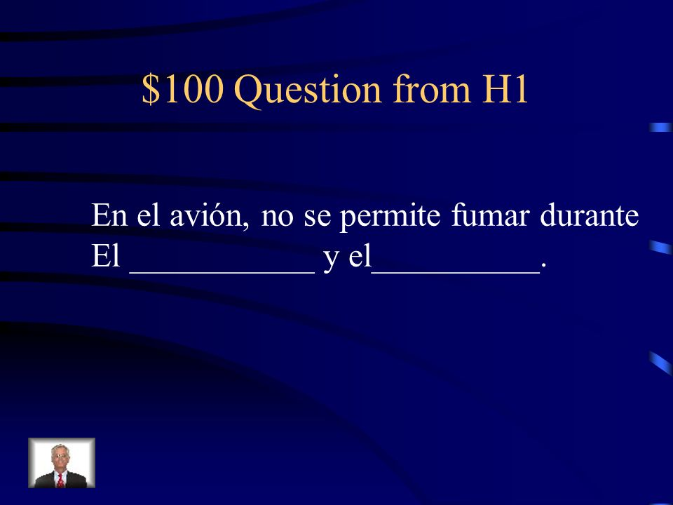 Final Jeopardy If you dont rent a car, you will not be able to drive for/on your trip.