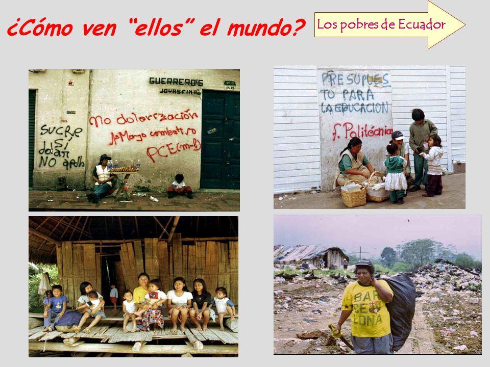 Los pobres de Ecuador