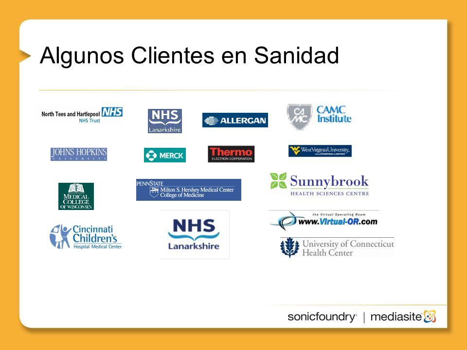 Healthcare Algunos Clientes en Sanidad