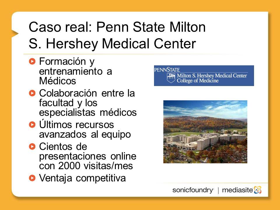 Caso real: Penn State Milton S.