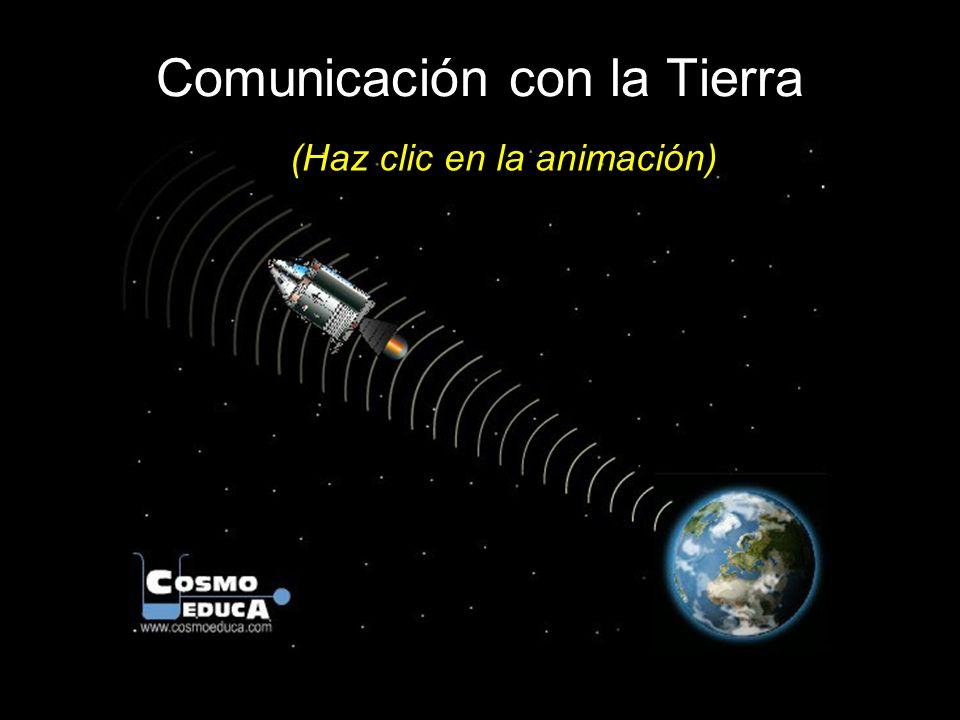 Comunicación con la Tierra (Haz clic en la animación)