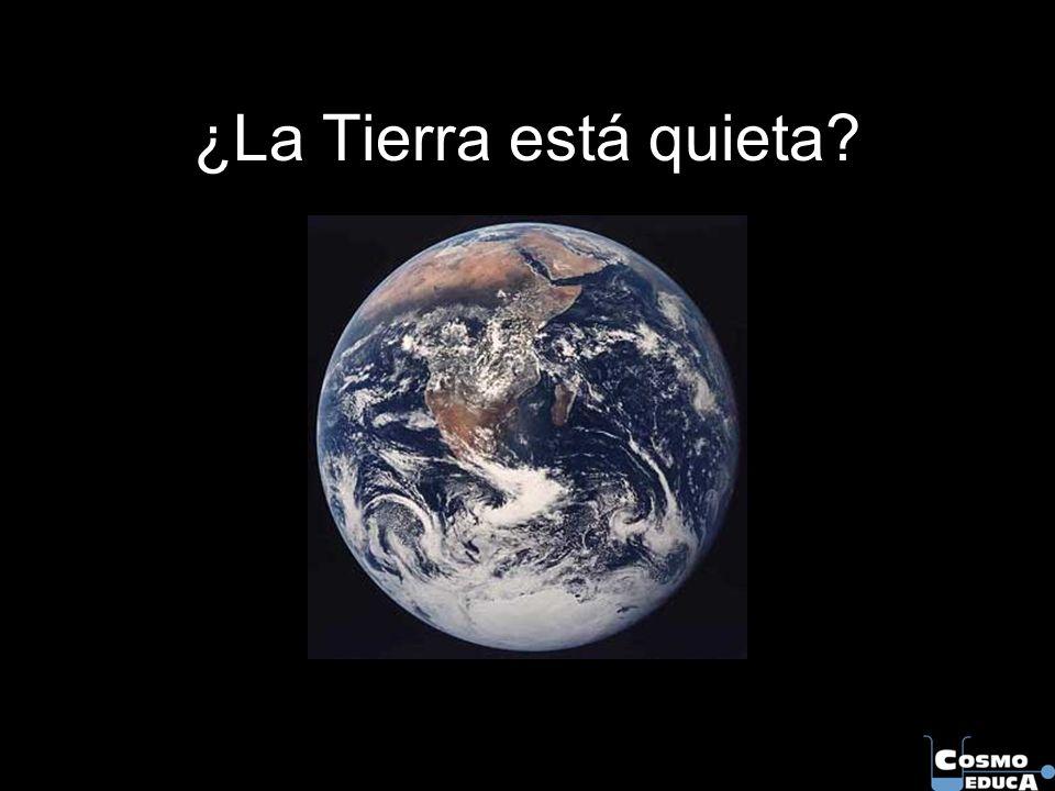 ¿La Tierra está quieta?