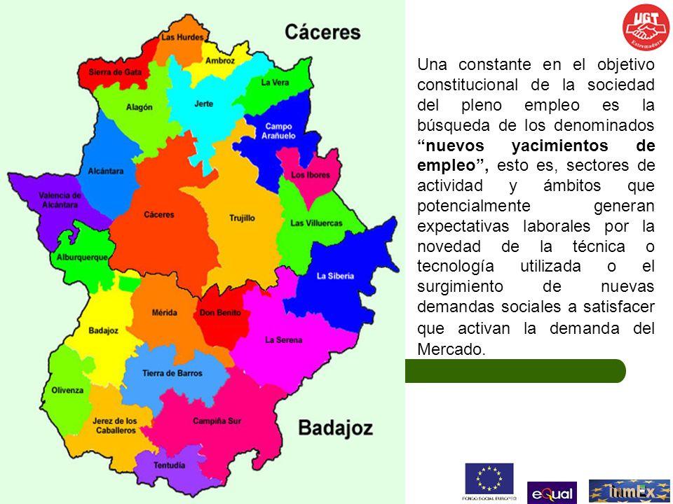 PRINCIPALES COMARCAS DE EXTREMADURA DONDE SE DESARROLLAN TRABAJOS AGRÍCOLAS CON PRESENCIA DE MANO DE OBRA TEMPORERA Comarcas de Badajoz Tierra de Barros Mérida Don Benito Badajoz Comarcas de Cáceres Campo Arañuelo Valle del Jerte Valle de Alagón