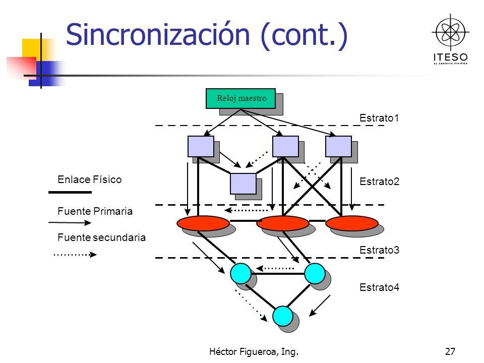 Héctor Figueroa, Ing.27 Sincronización (cont.)
