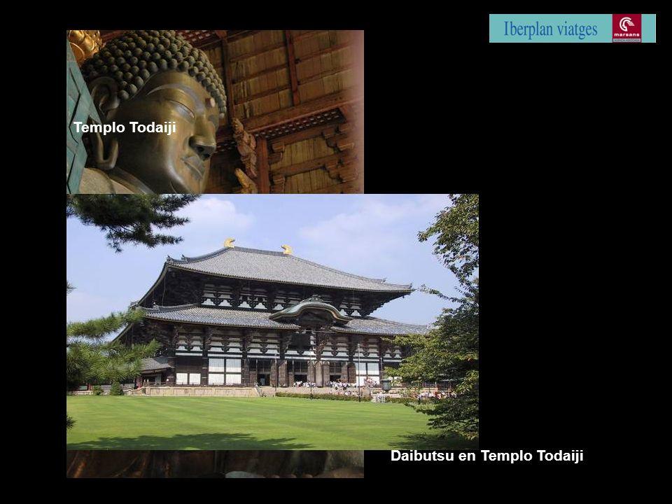 Daibutsu en Templo Todaiji Templo Todaiji