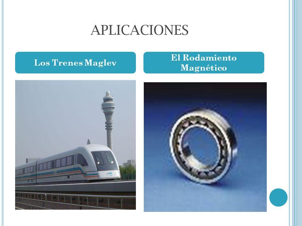 APLICACIONES Los Trenes Maglev El Rodamiento Magnético
