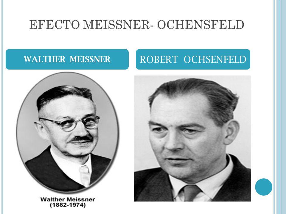 EFECTO MEISSNER- OCHENSFELD WALTHER MEISSNER ROBERT OCHSENFELD