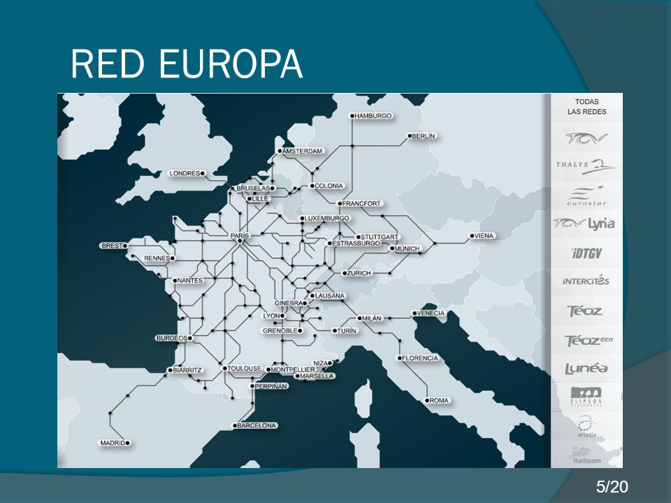 RED EUROPA 5/20