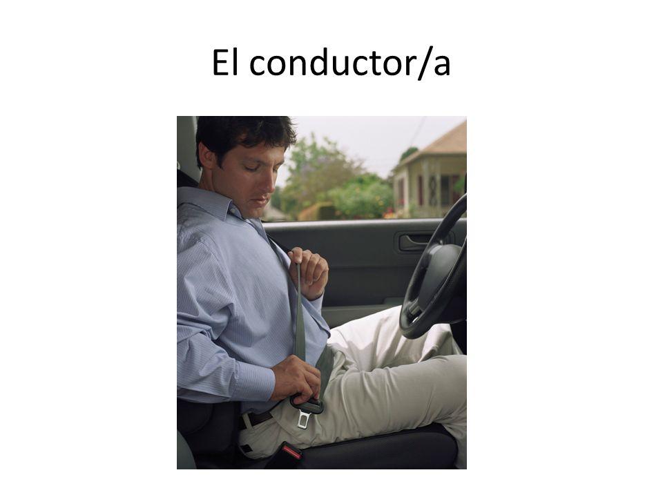 El conductor/a