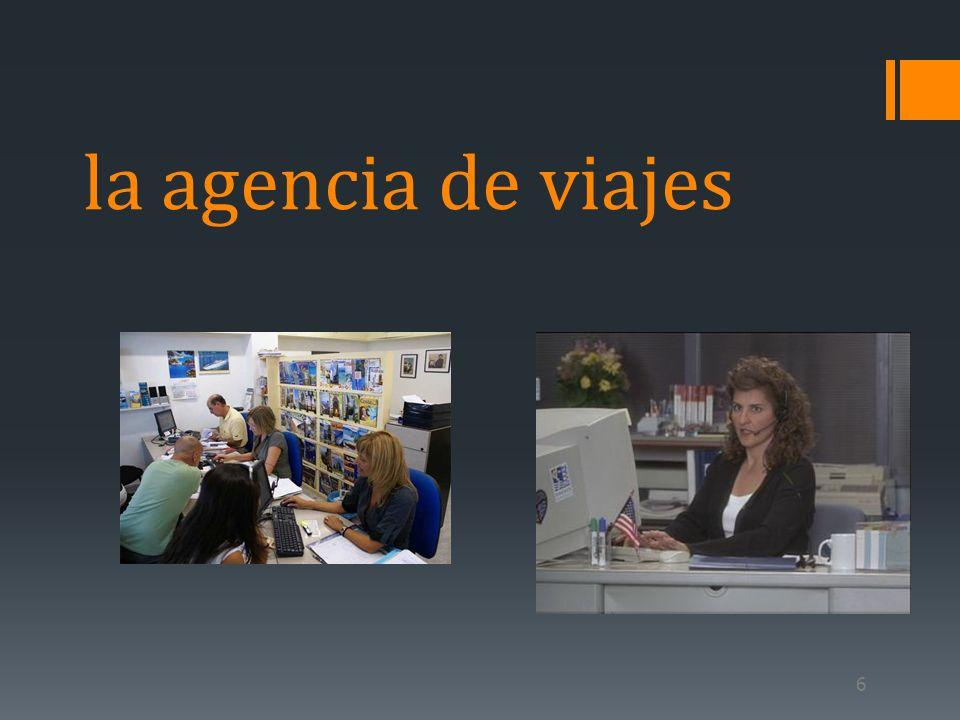 6 la agencia de viajes