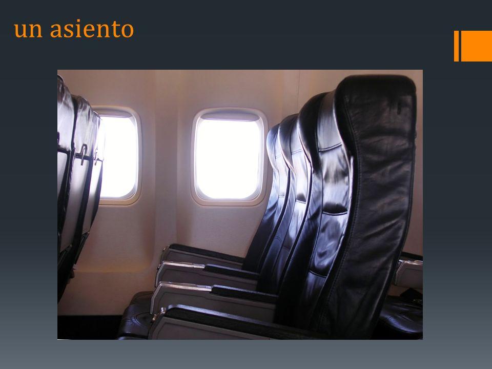un asiento