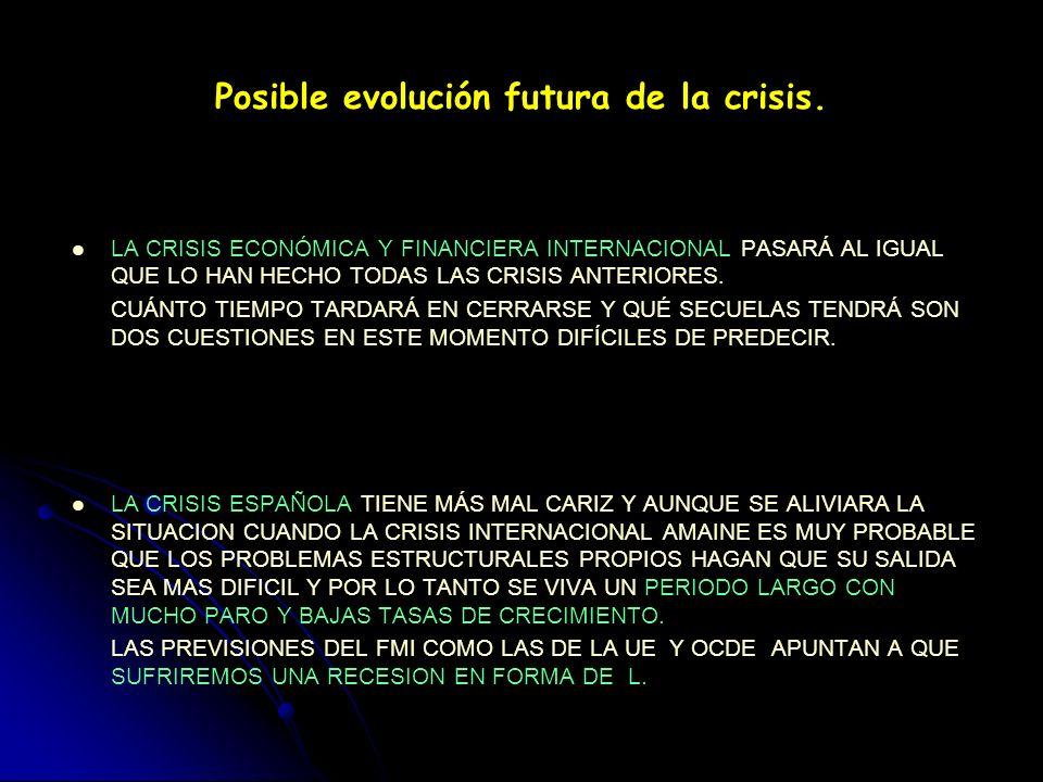 La salida de la crisis en la economía española: Necesidad de cambio de modelo económico de crecimiento y reformas estructurales. DE UN MODELO BASADO E