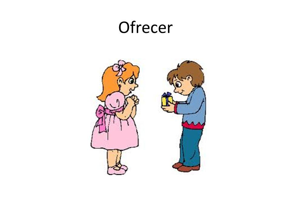 Ofrecer