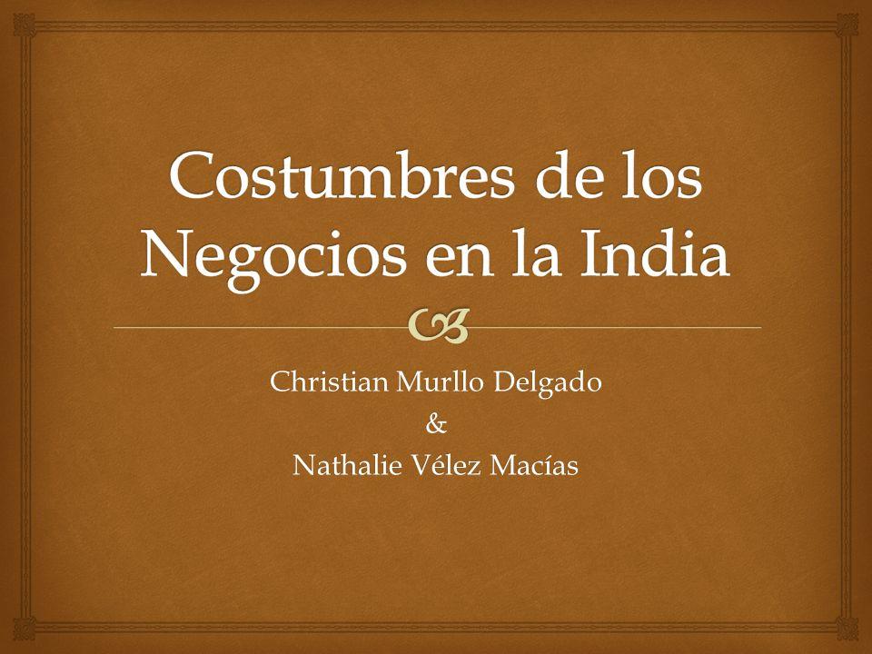 Christian Murllo Delgado & Nathalie Vélez Macías