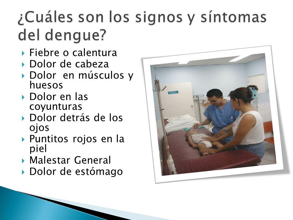 Fuerte dolor abdominal (fuerte dolor de estomago) Vómitos persistentes Dificultad para respirar Frialdad en manos y pies Sangrado de mucosas (sangrado de encías, nariz) Somnolencia