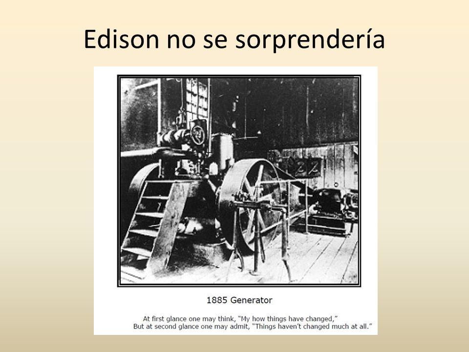 Edison no se sorprendería