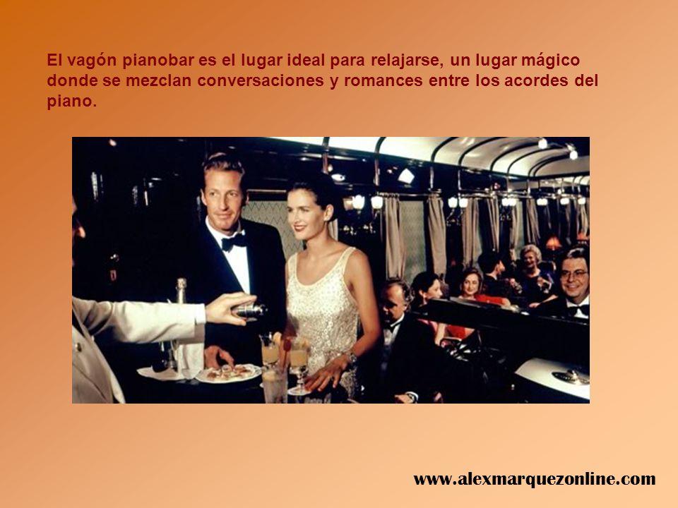 Cuidados y lujosos detalles se encuentra en todos los vagones www.alexmarquezonline.com