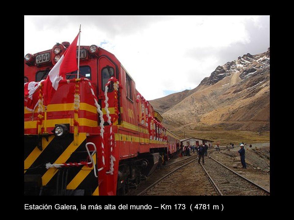 Túnel de La Galera (Punto más alto 4782 m)