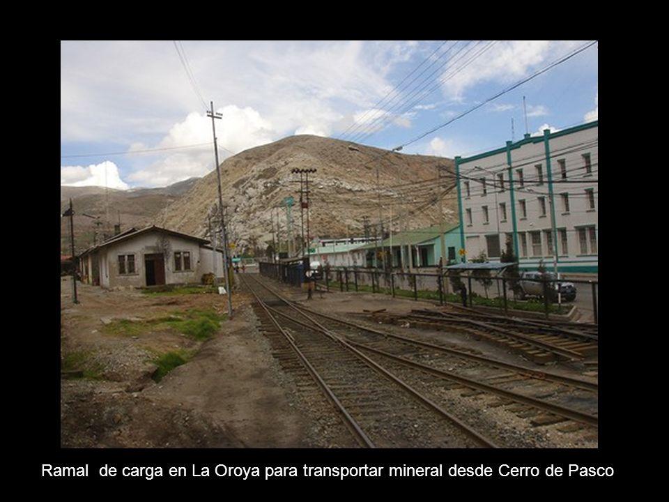 Establecimiento metalúrgico en La Oroya ( Km 222 )