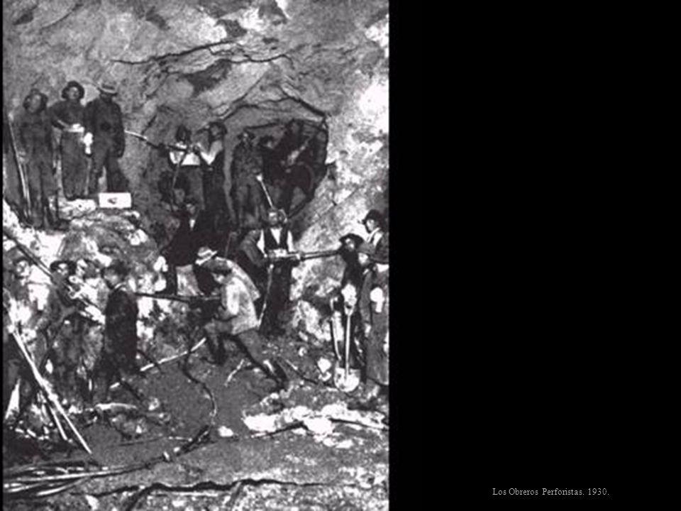 Los Obreros Perforistas. 1930.