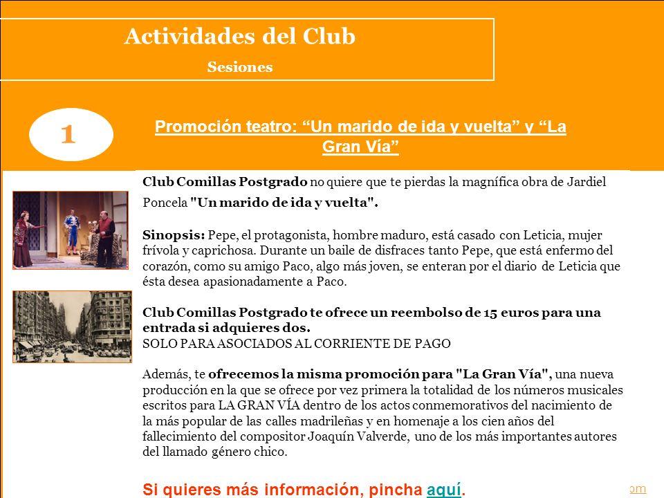 Noticias del Club www.clubcomillaspostgrado.com 1 Éxito del workshop Marketing Viral de ING Direct Una gran acogida de este nuevo seminario de marketing que ha contado con la presencia de Valle Tienda V.P de Marketing Online y miembro del Comité de Dirección de ING Direct.