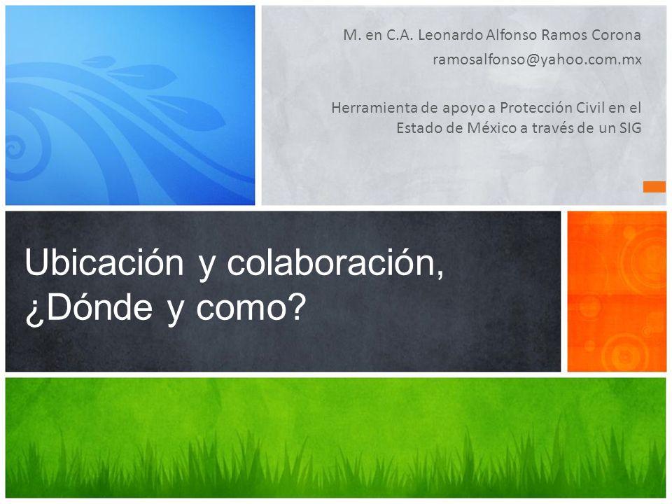 "La presentaci�n ""M. en C.A. Leonardo Alfonso Ramos Corona ..."