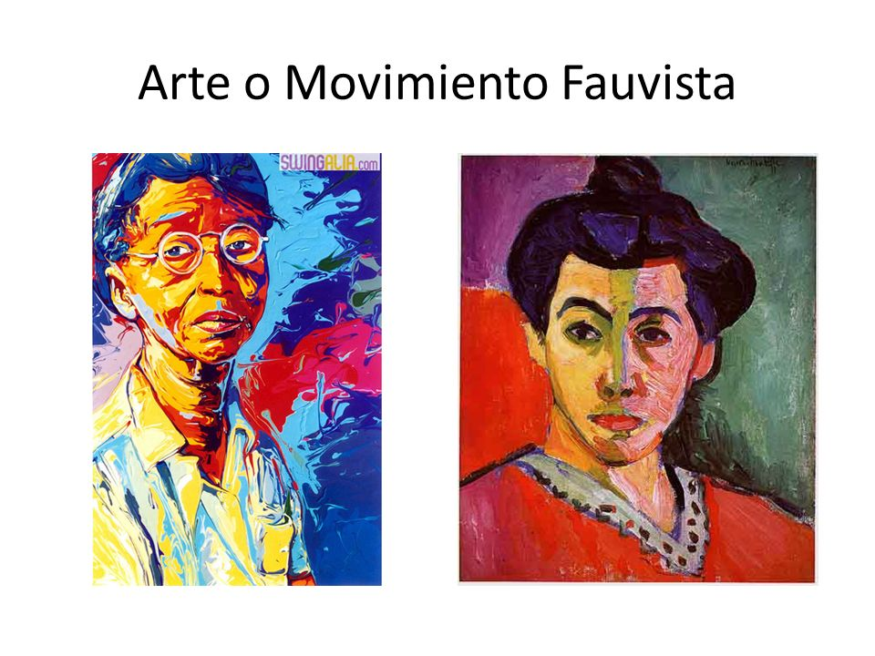 Arte o Movimiento Fauvista