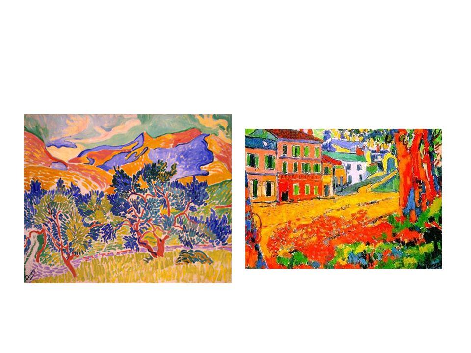 Cubismo Se inicia con la obra las señoritas de Avignon de Pablo Picasso.