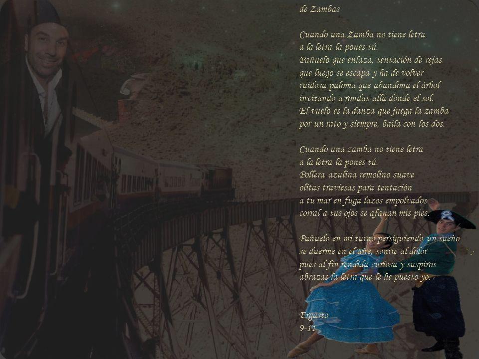 de Zambas Audio: Zamba de Estudio nº 15 Facundo Ramírez Arte sobre imágenes de: Facundo Ramírez El tren de las nubes paisaje del norte Argentino – otr
