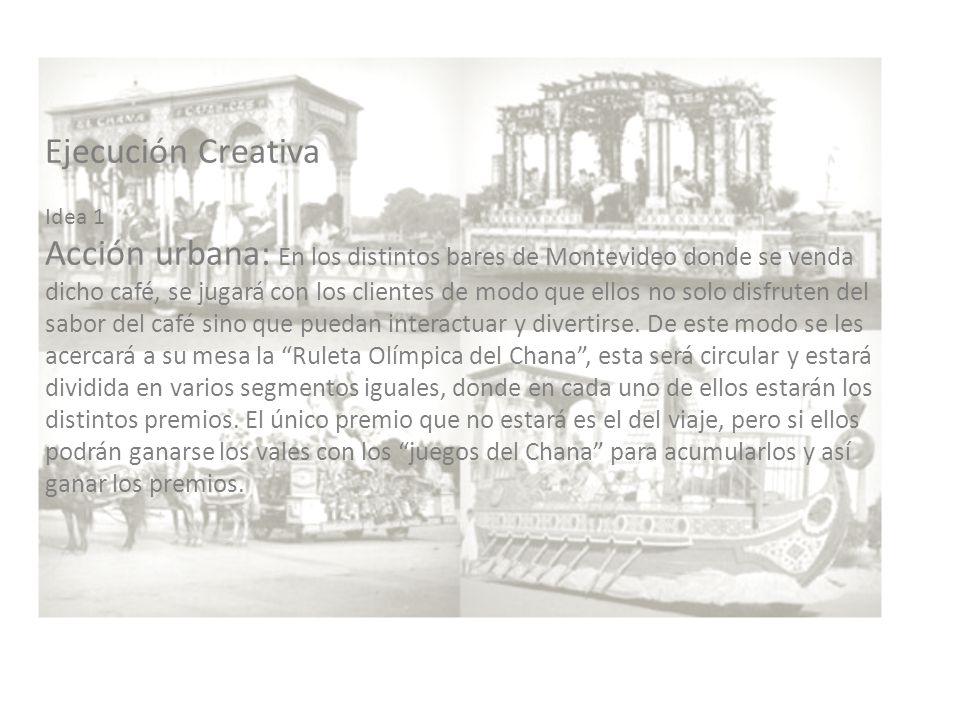 Idea 2 Radio: Realizar una campaña radial donde se muestre a los consumidores que la pasión por la celeste no solo está en el mundial sino que también Uruguay es parte de los Juegos Olímpicos.