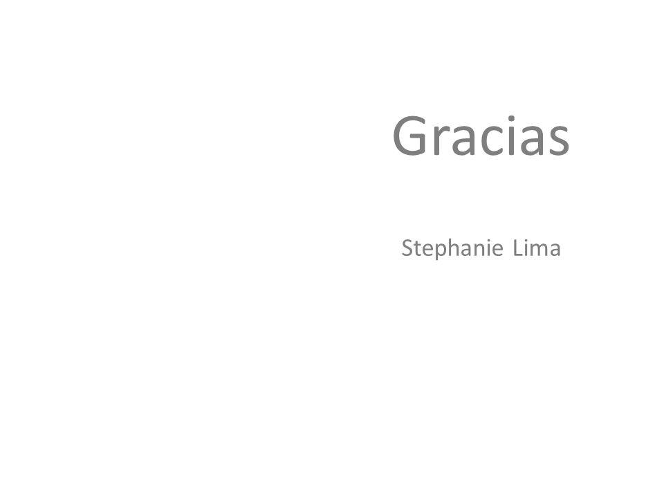 Gracias Stephanie Lima