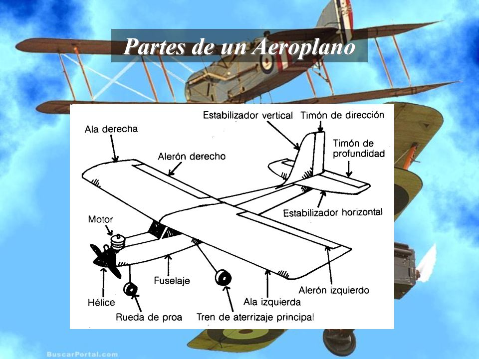 Partes de un Aeroplano HELICE Específicamente las hélices funcionan bajo 2 teorías las cuales son: Teoría del tornillo: Cuando la hélice gira se enrosca y de4splaza en el aire tal como lo hace un tornillo.