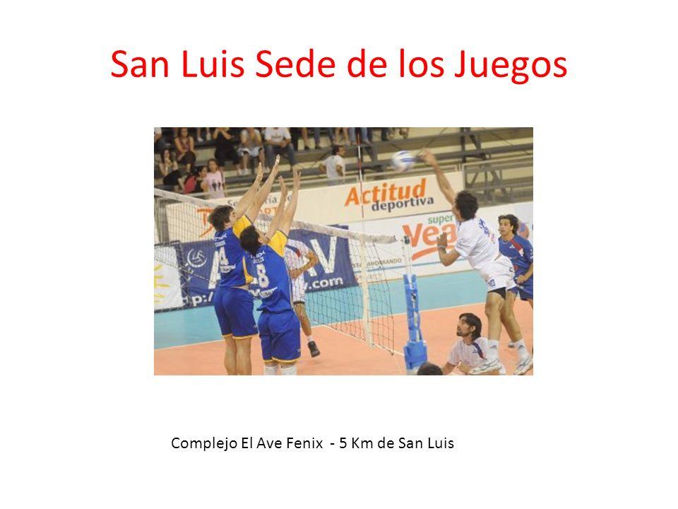 San Luis Sede de los Juegos Complejo El Ave Fenix - 5 Km de San Luis