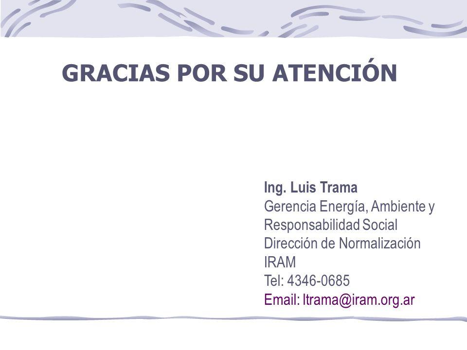 GRACIAS POR SU ATENCIÓN Ing.